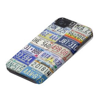 LICENSE PLATES COQUE iPhone 4