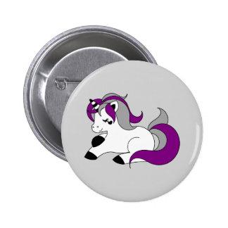 Licorne asexuelle badges
