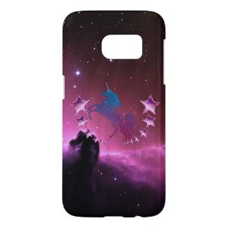 Licorne avec des étoiles coque samsung galaxy s7