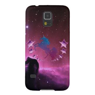Licorne avec des étoiles coques pour galaxy s5