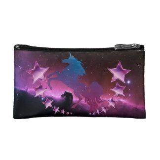 Licorne avec des étoiles trousse make-up