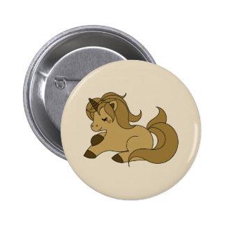 Licorne bronzage de sommeil pin's