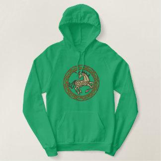 Licorne celtique sweatshirts à capuche