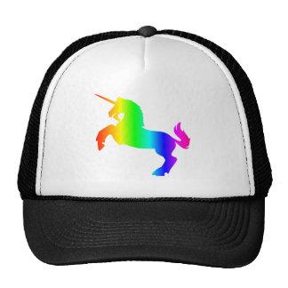 Licorne d'arc-en-ciel casquette