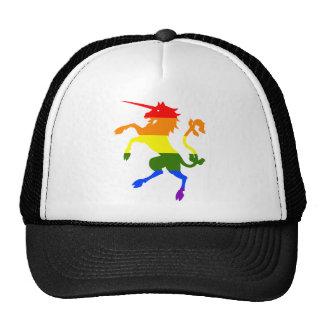 Licorne d'arc-en-ciel casquette trucker