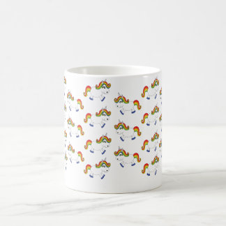 Licorne d'arc-en-ciel mug