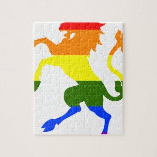 Licorne d'arc-en-ciel puzzle