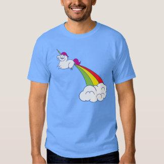 Licorne d'arc-en-ciel ! t-shirts