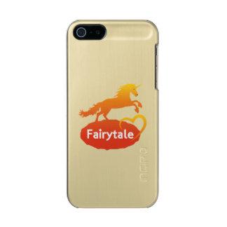 Licorne de conte de fées avec amour coque iPhone 5 incipio feather® shine