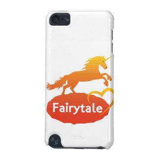Licorne de conte de fées avec amour coque iPod touch 5G