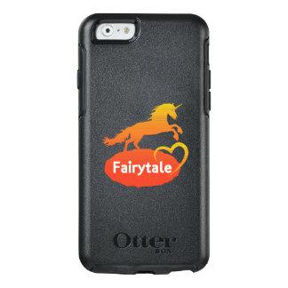 Licorne de conte de fées avec amour coque OtterBox iPhone 6/6s