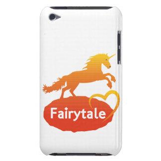 Licorne de conte de fées avec amour coques iPod Case-Mate