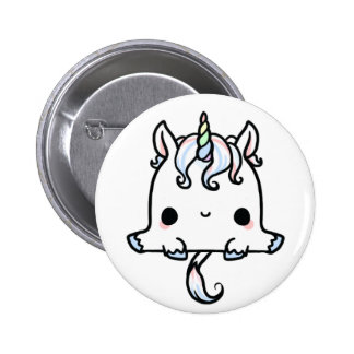 Licorne de Kawaii (vous changez l'arrière - plan ! Badges