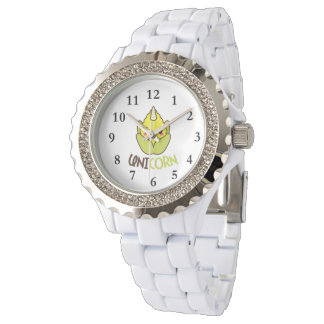 Licorne de maïs montres bracelet