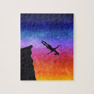 Licorne de piqué de falaise puzzle
