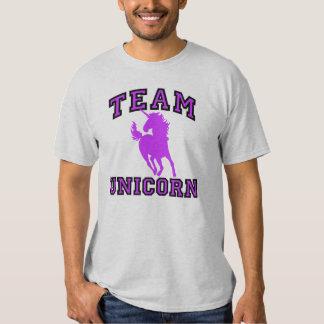 Licorne d'équipe t-shirts