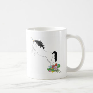 Licorne des fleurs mug