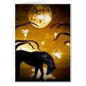 Carte Licorne imaginaire et fée