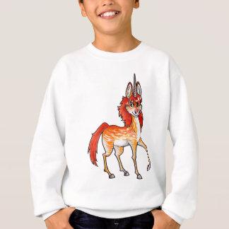 Licorne du feu sweatshirt