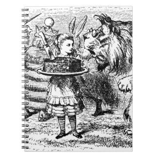 Licorne et lion carnet
