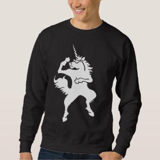 Licorne fraîche de danse sweatshirt
