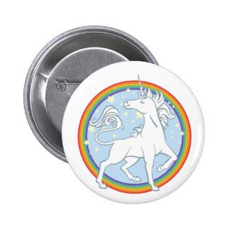 Licorne majestueuse d'arc-en-ciel d'étincelle pin's
