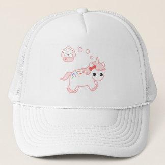 Licorne rêveuse de petit gâteau casquette