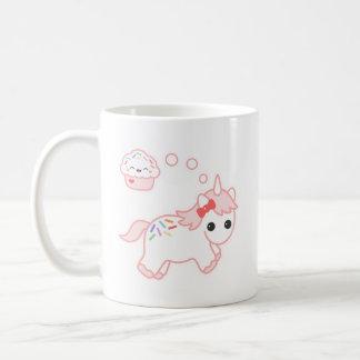 Licorne rêveuse de petit gâteau mug