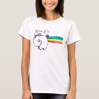 Licorne stupide avec l'arc-en-ciel par IEM Boz T-shirt