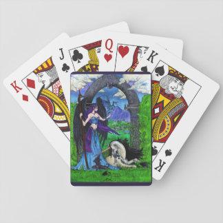 Licornes, anges, dragons et plus jeu de cartes