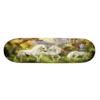 Licornes dans le domaine skateboard 21,6 cm