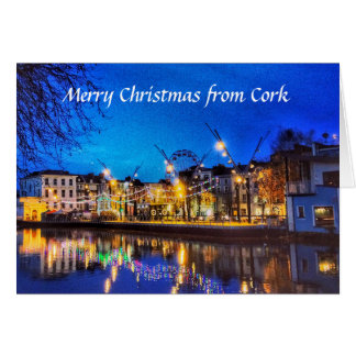 Liège, carte de Noël de l'Irlande