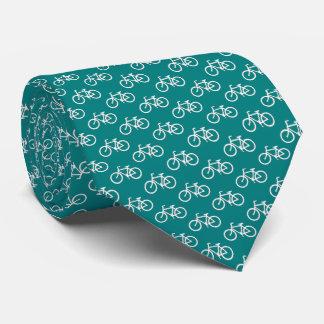 Liens de motif de bicyclette cravate