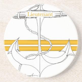 lieutenant d'or, fernandes élégants dessous de verre en grès