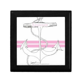 lieutenant rose, fernandes élégants petite boîte à bijoux carrée