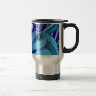 Lièvres célestes mug de voyage