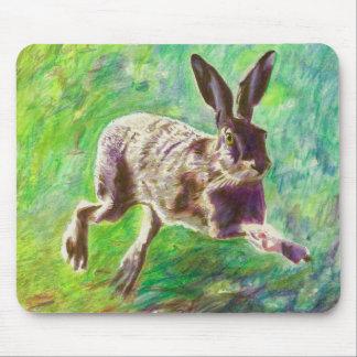 Lièvres joyeux 2011 tapis de souris