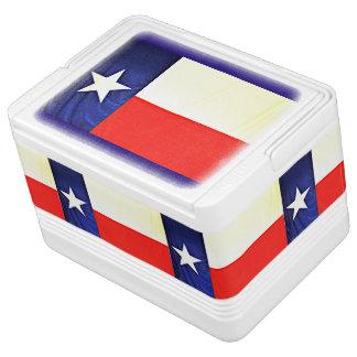L'igloo 12 de drapeau du Texas peut glacière