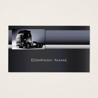 Ligne carte en métal de Minimalistic de camion