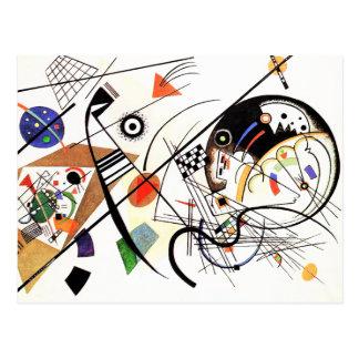 Ligne carte postale de Kandinsky Tranverse