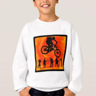 Ligne centrale de vélo sweatshirt