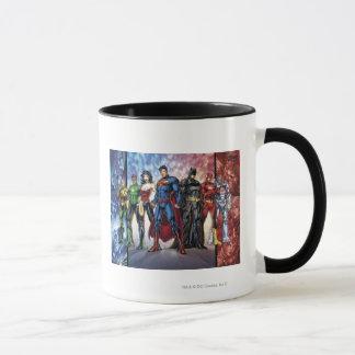 Ligne de ligue de justice 52 de la ligue de mug