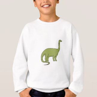 Ligne mono de brontosaure sweatshirt
