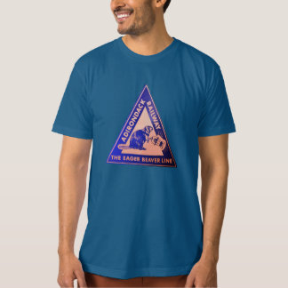 Ligne pièce en t de castor désireux t-shirt