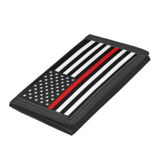 Ligne rouge mince drapeau américain