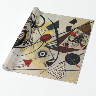 Ligne transversale d'art abstrait de Kandinsky Papier Cadeau
