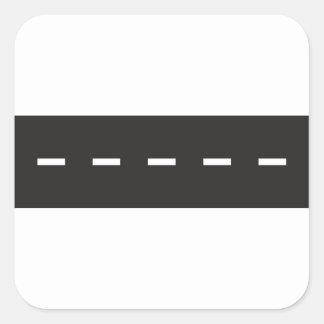 Lignes blanches autocollants