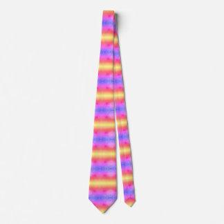 Lignes brouillées par pastel cravate