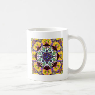 Lignes concentriques de couleur mug