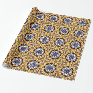 Lignes concentriques de couleur papiers cadeaux